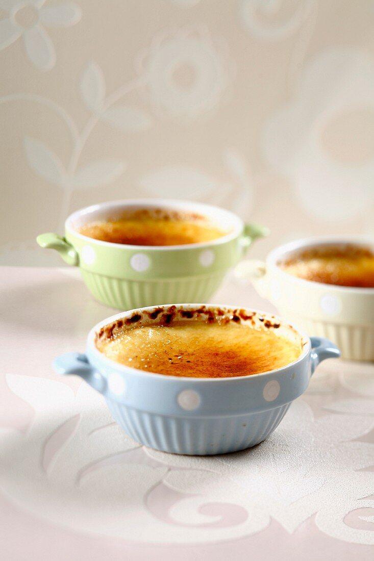 Catalan cream desserts
