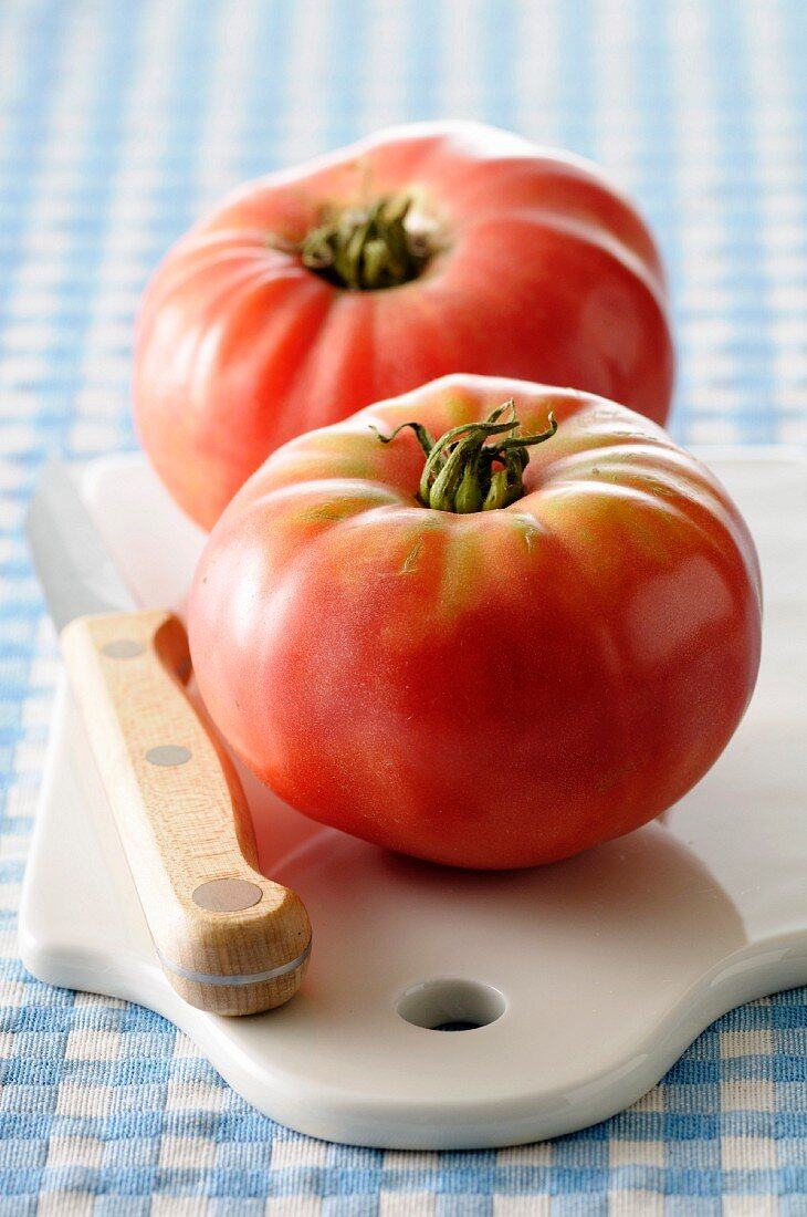 Pink tomatoes from Berne