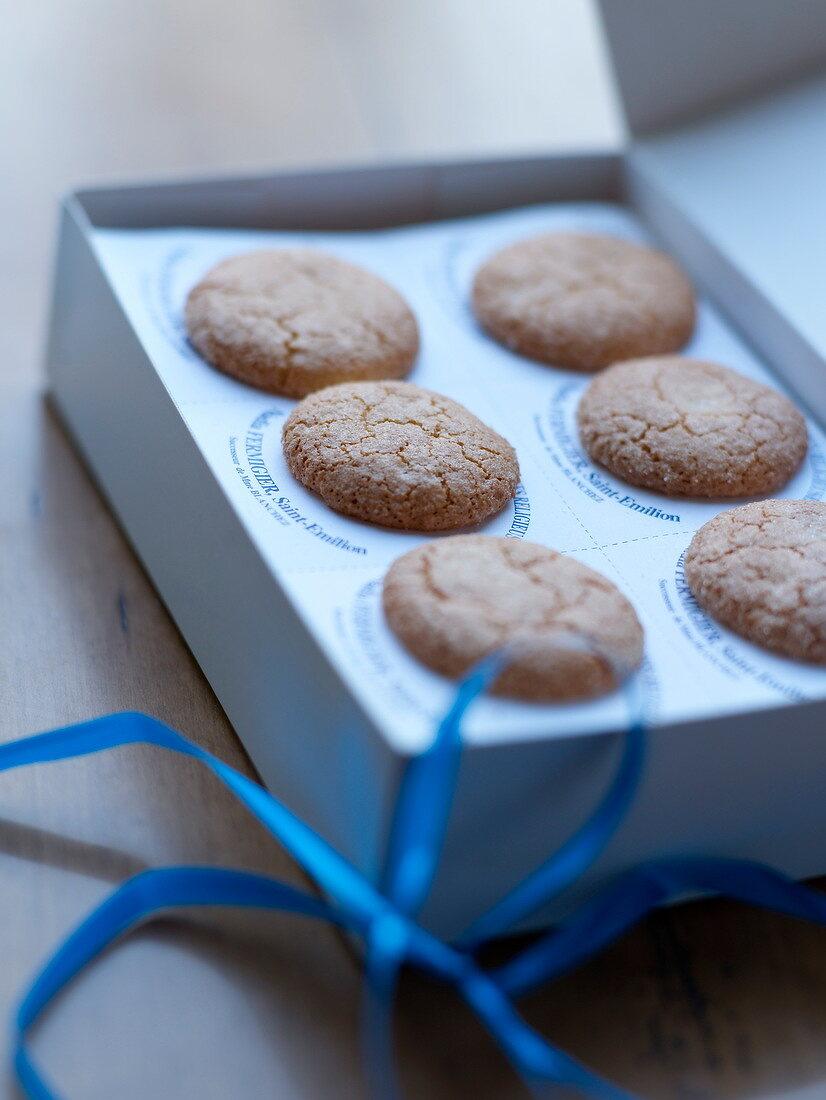 Macarons des Ursulines from Saint-Emilion made by the Maison Ferlion