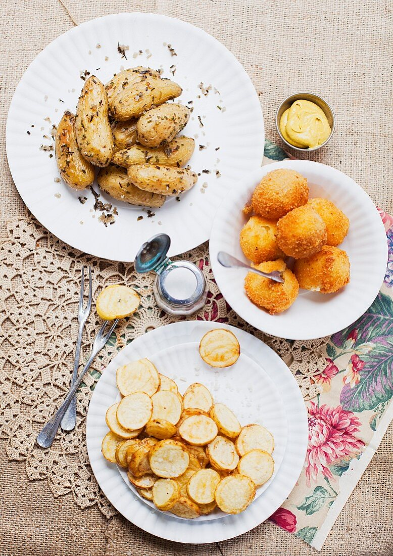 Three recipes with Ratte potatoes from Le Touquet
