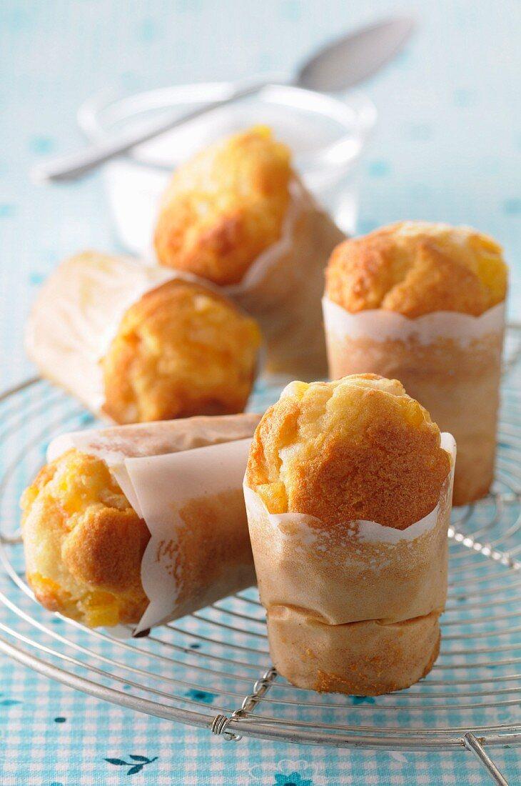 Small cheese soufflés