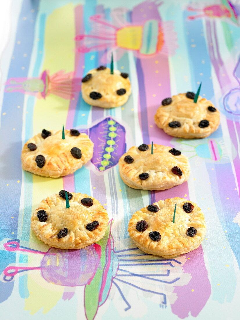Flying saucer tartlets