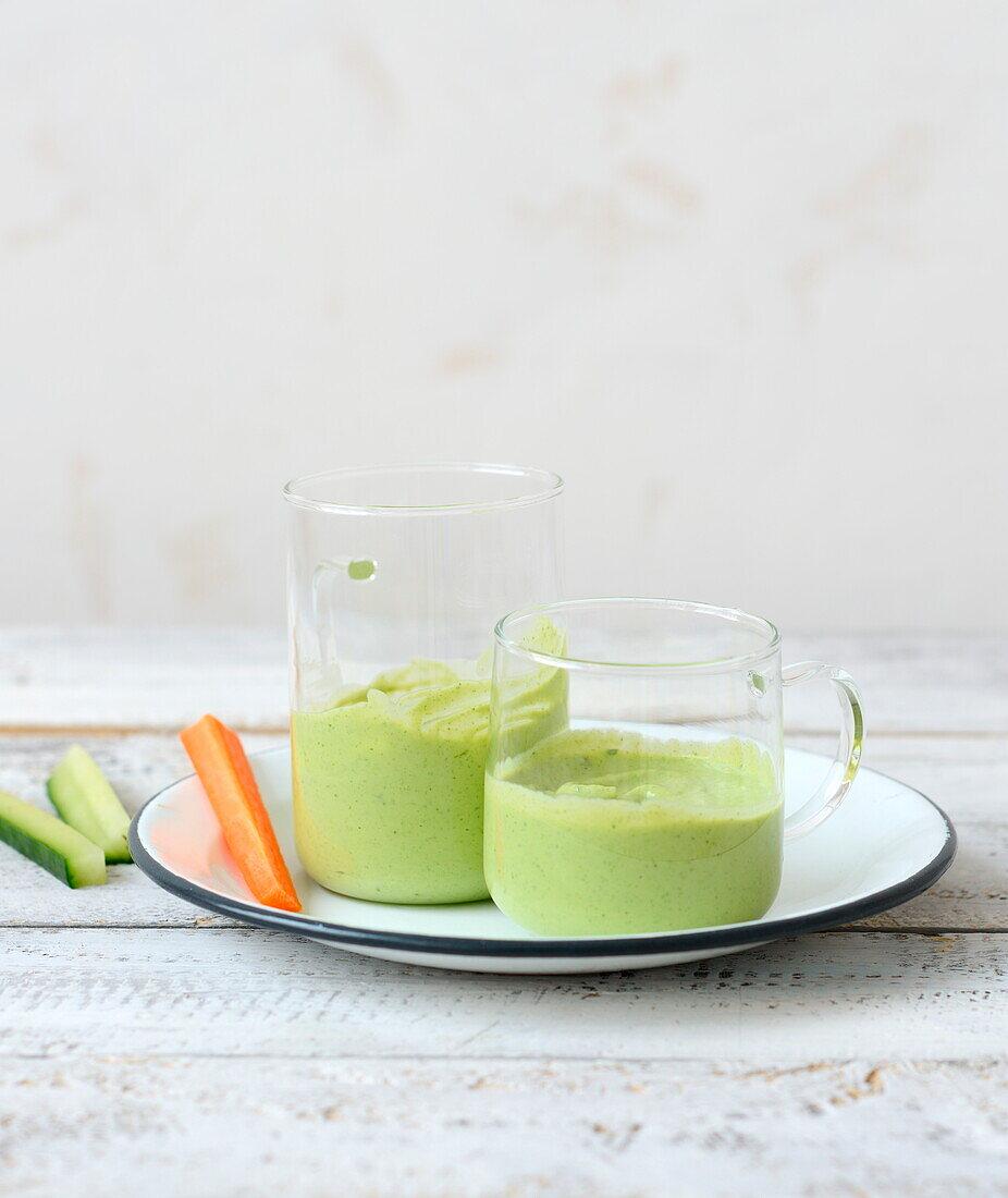 Avocado smoothie dip