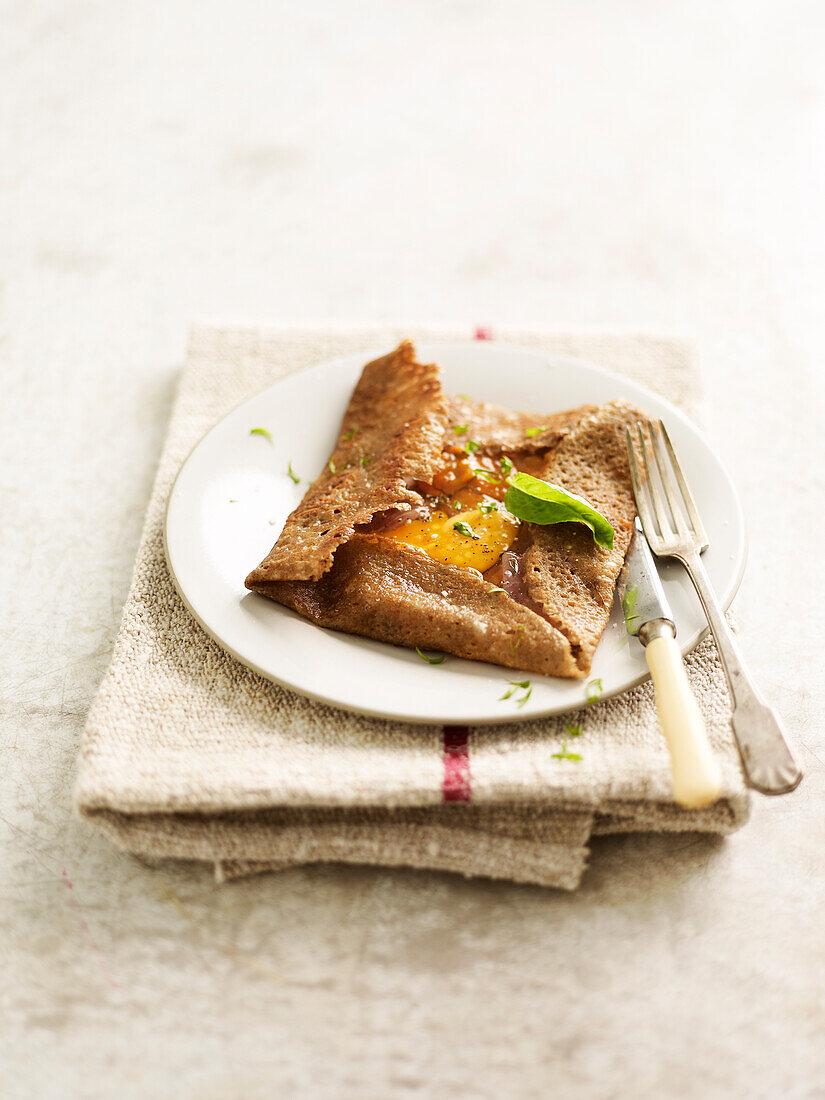 Basque buckwheat galette