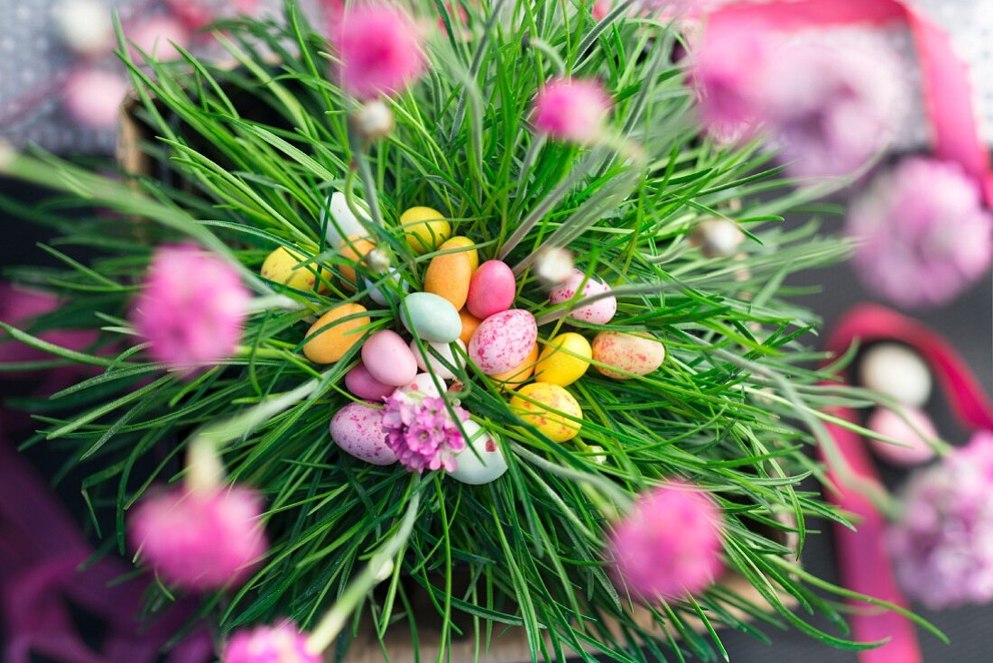 Sugar Easter eggs