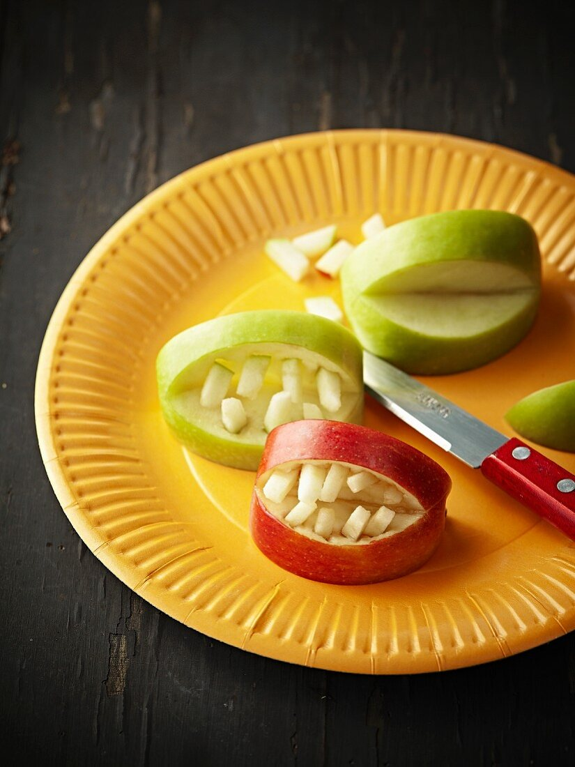 Vitamin false teeth