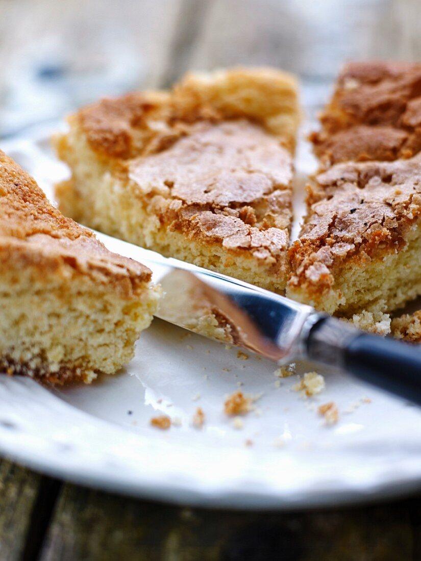 Gateau au Amande (French almond cake)