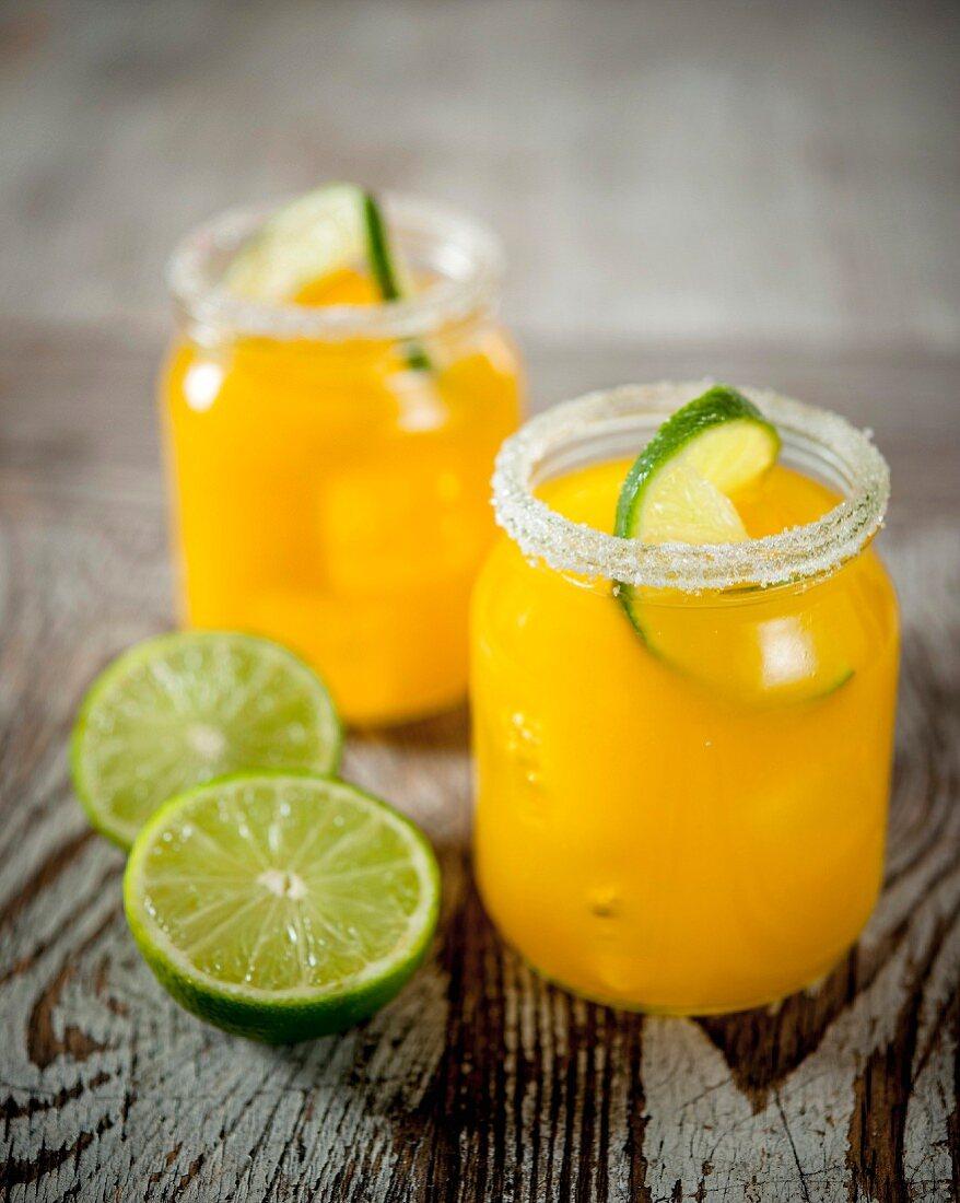 Pineapple-lime juice