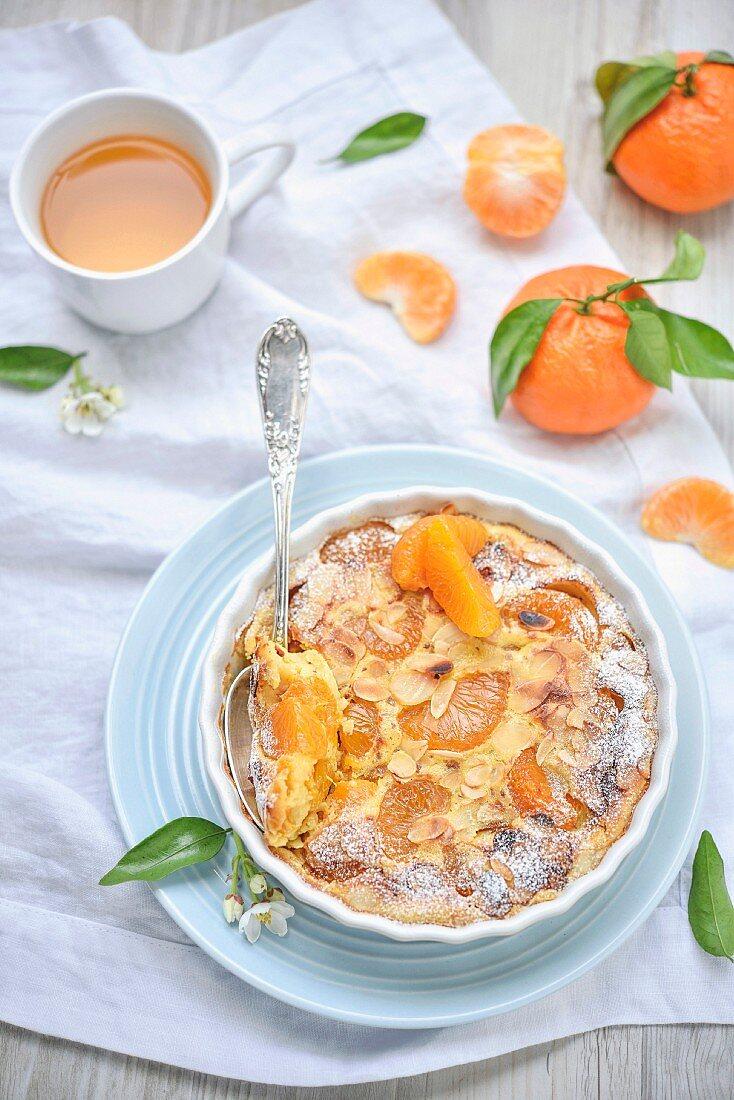 Clementine gratin