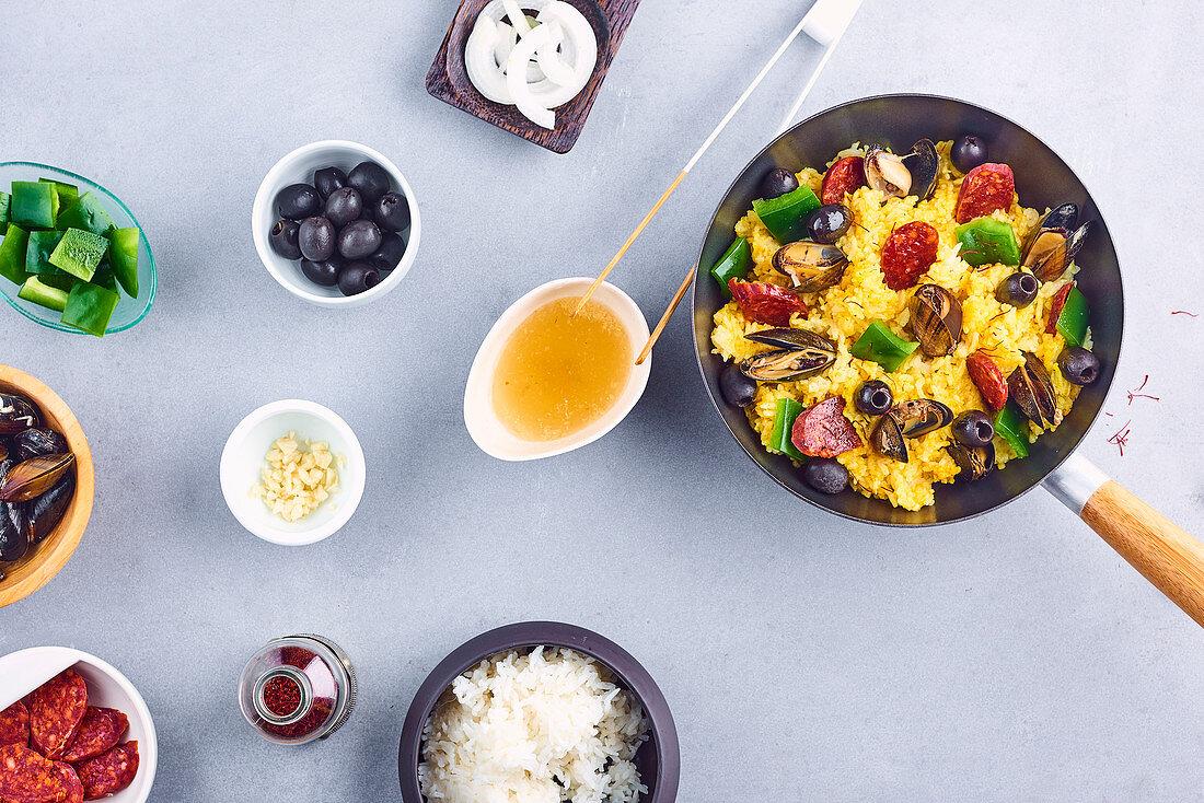 Paëlla wok