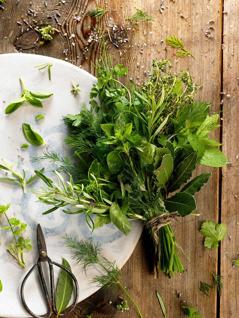 Bunch of Herbes de Provence