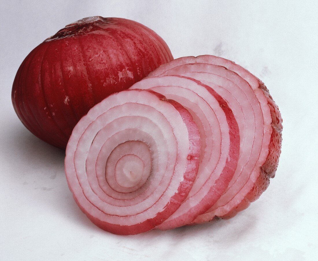 Bermuda Onion; Sliced