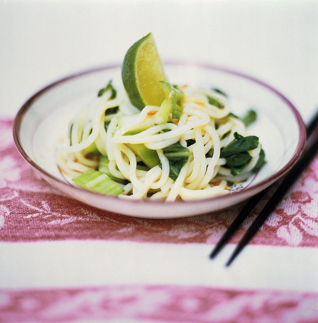 Asian Noodles with Lime