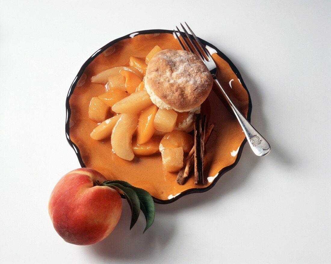 Peach and Pear Shortcake (USA)