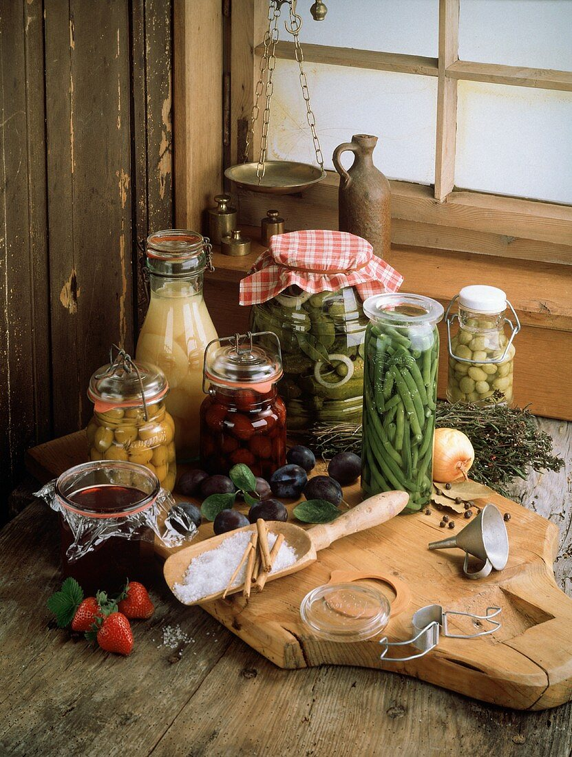 Still Life of Preserves