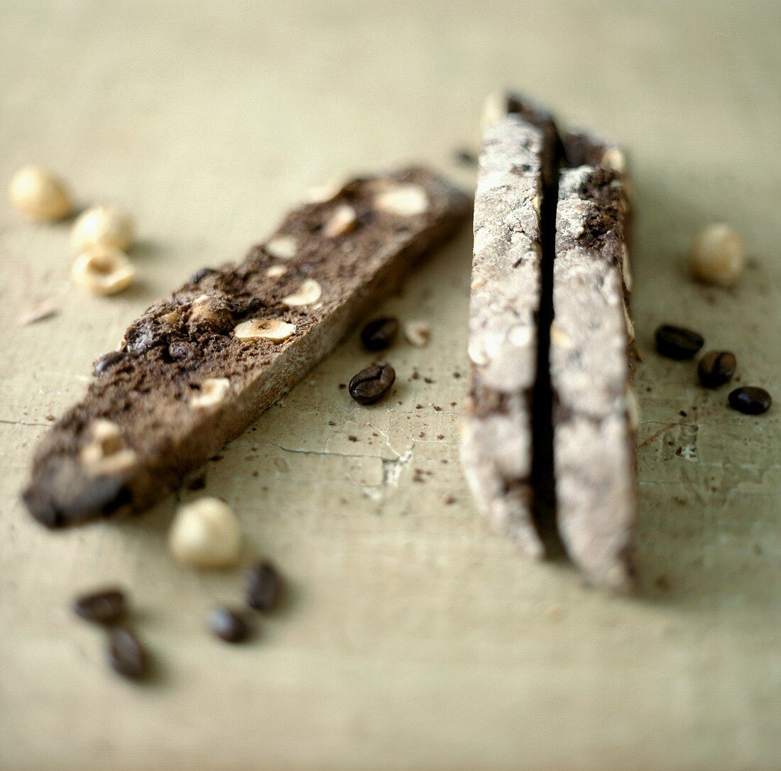 Biscotti di Amelia (Chocolate and hazelnut biscotti, Italy)