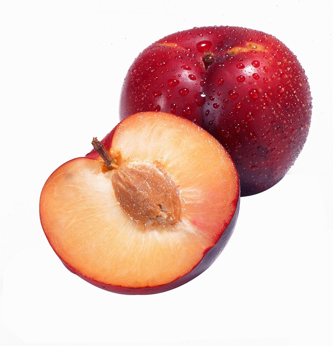One Whole Plum and a Half Plum