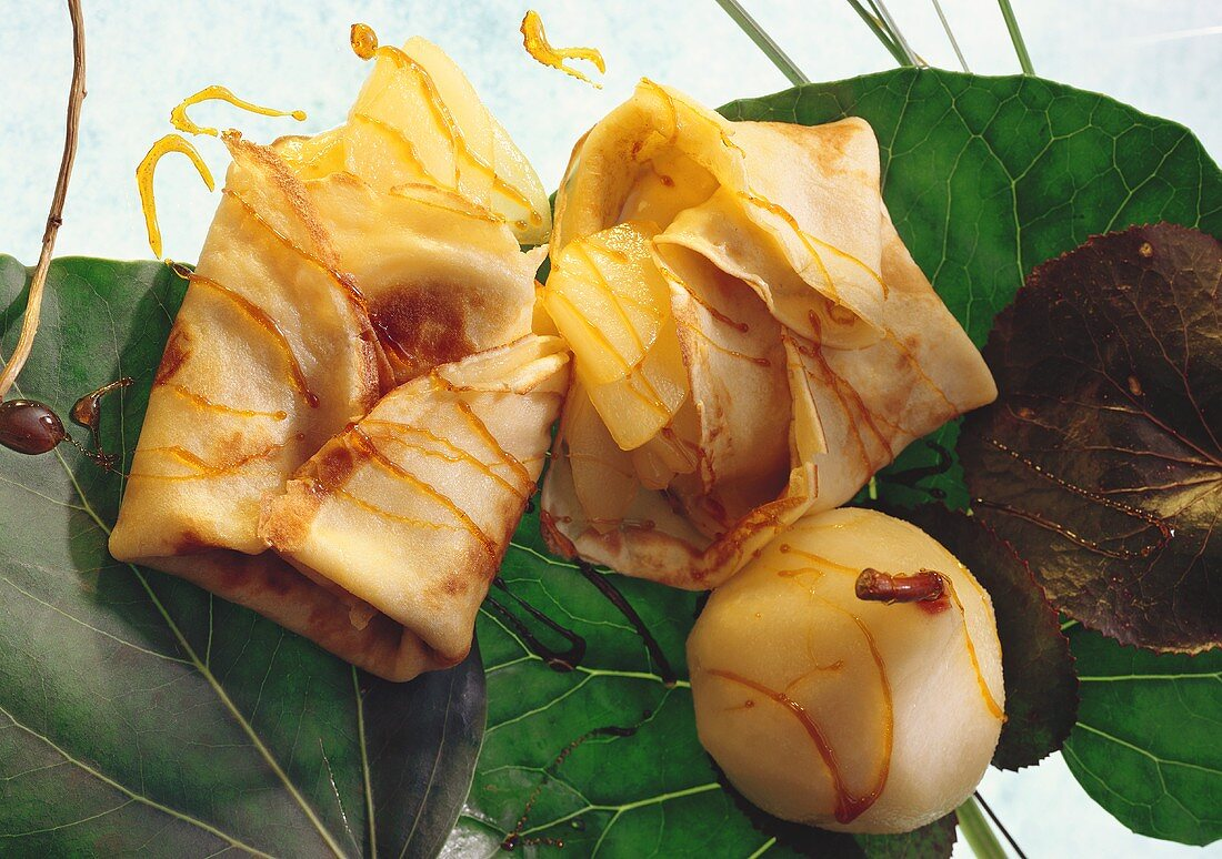 Pear Pancakes from Galicia