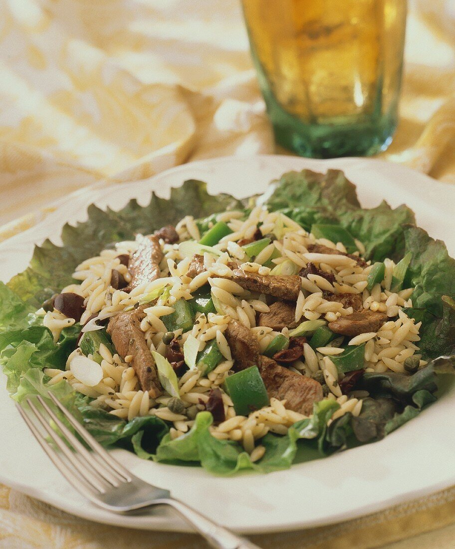 Lamb Orzo Salad