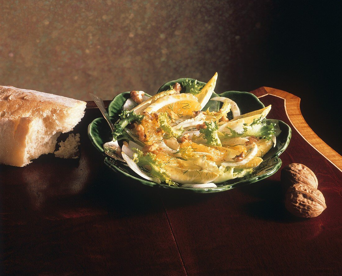 Salad with Fennel and Oranges