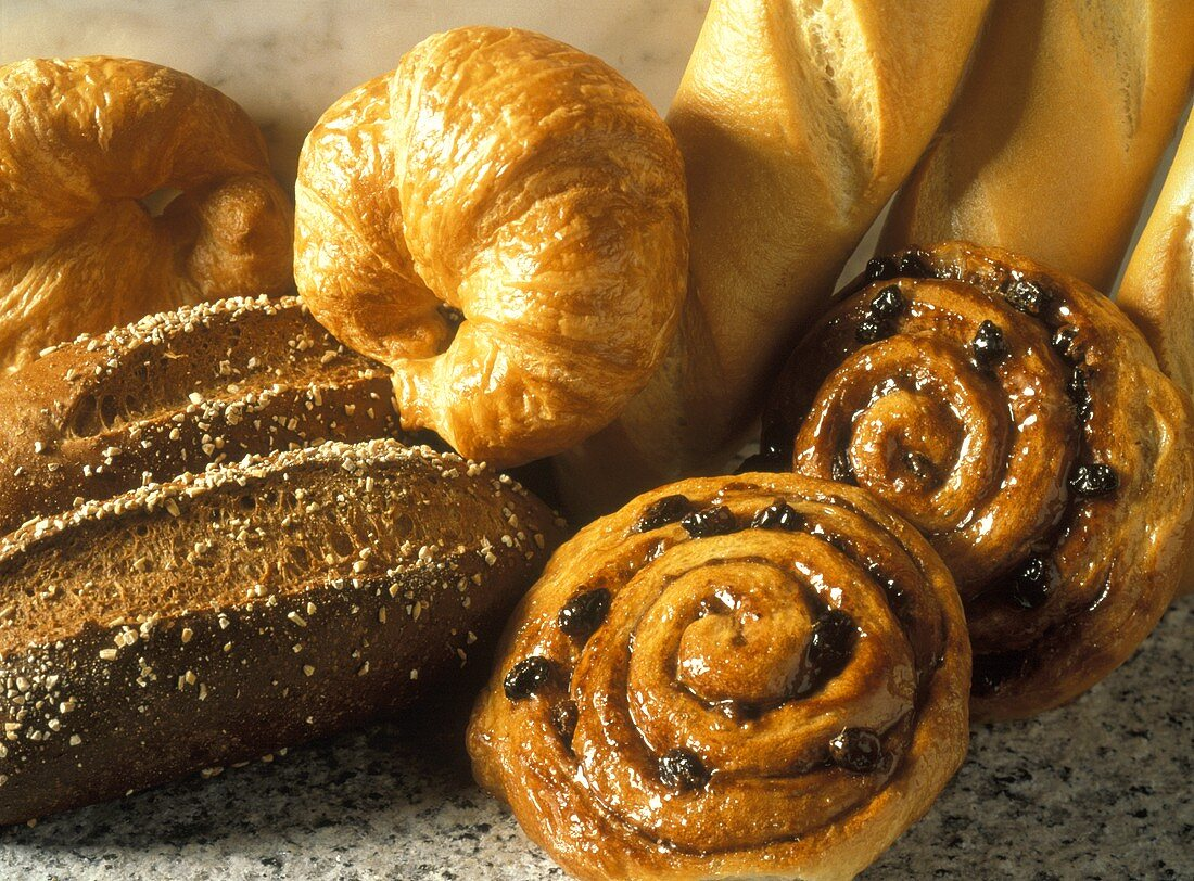 Bread and Danishes