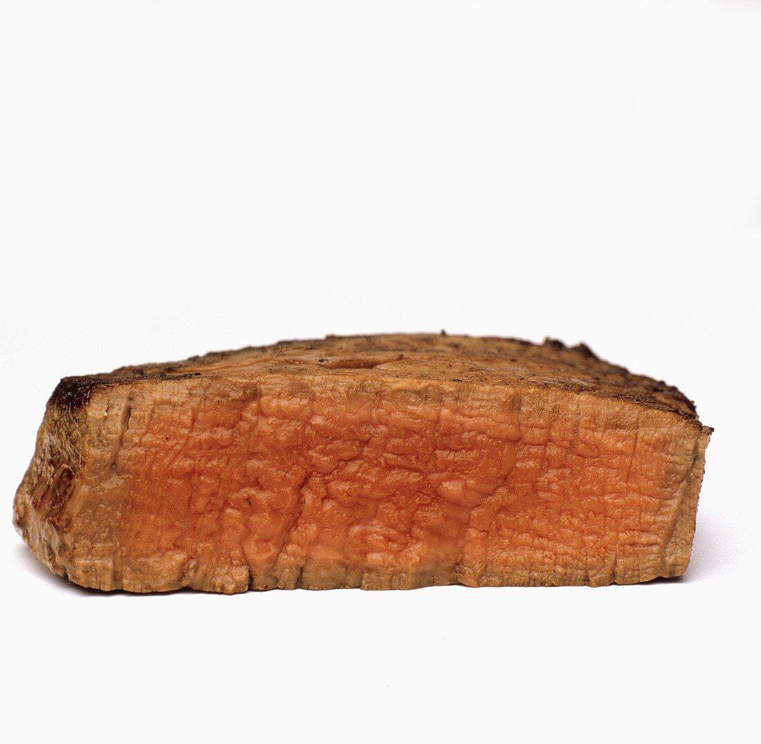 Steak Prepared Medium Rare