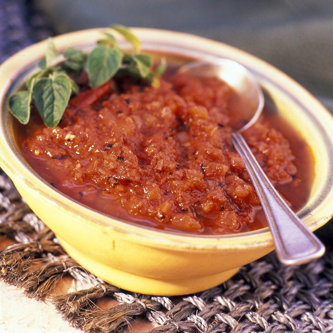 Salsa alla marinara (Tomato sauce with herbs & garlic)