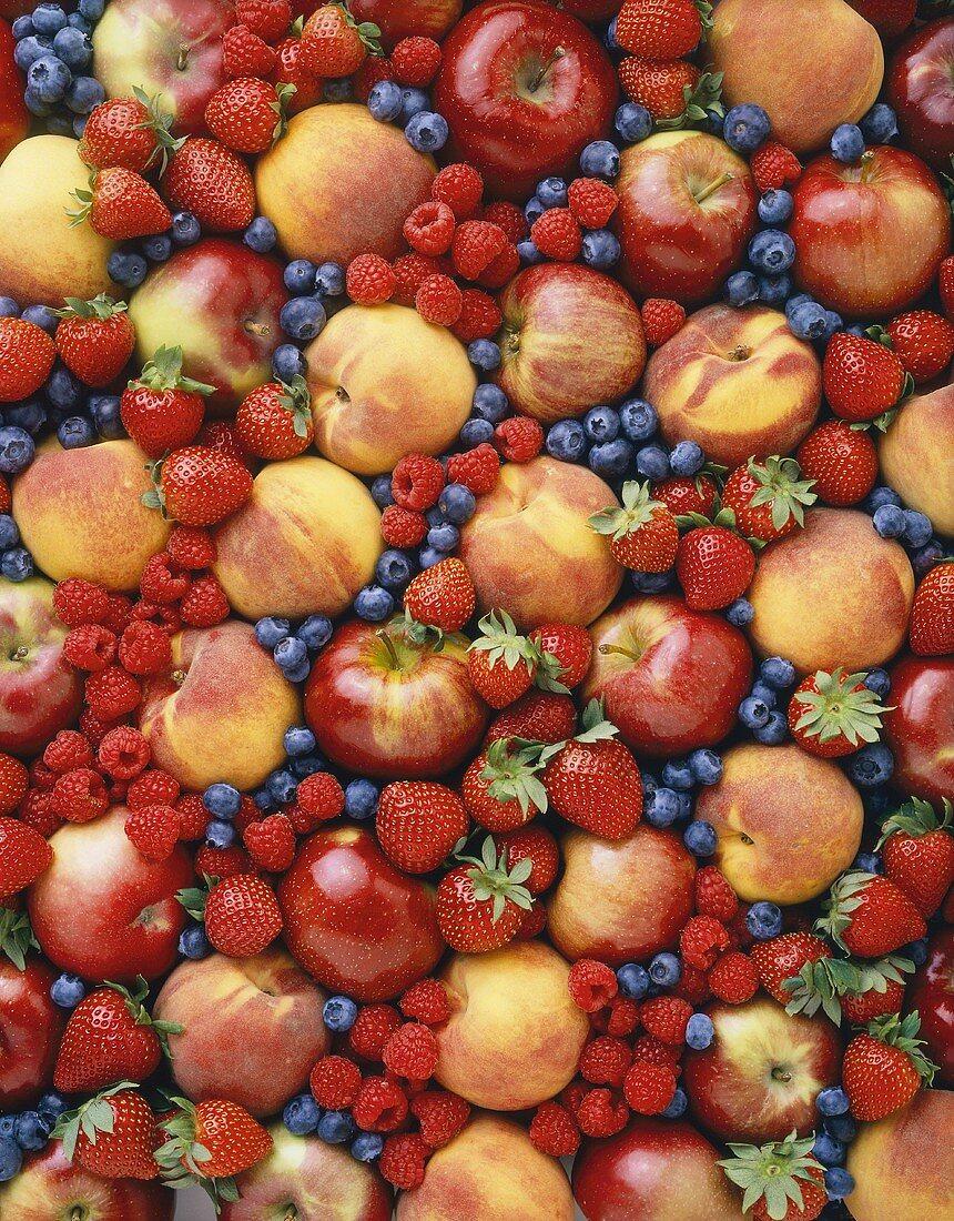 Still Life: Assorted Fruits
