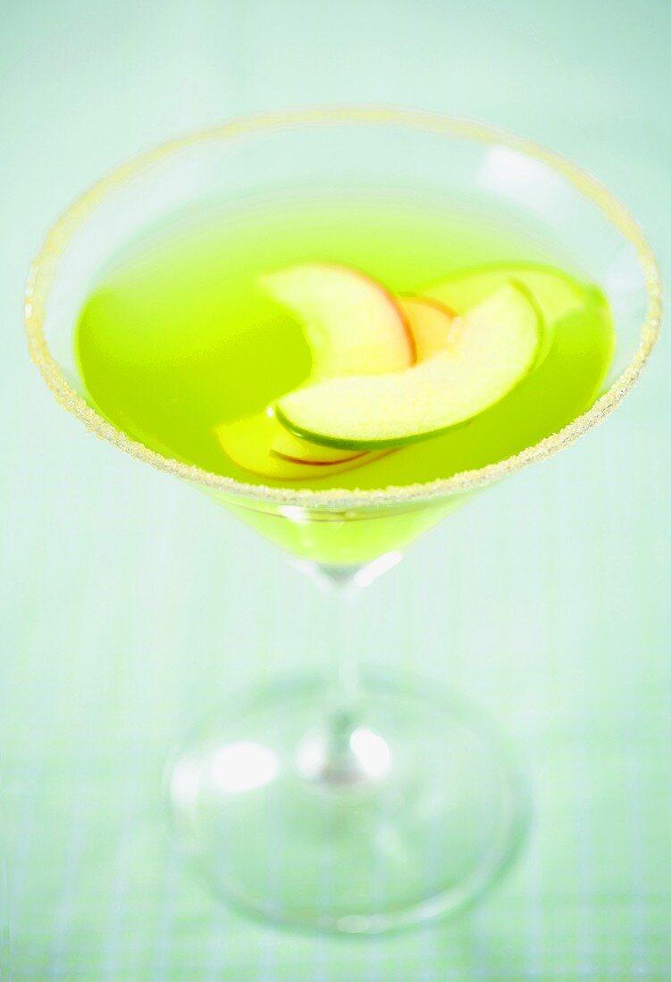 An Green Apple Martini