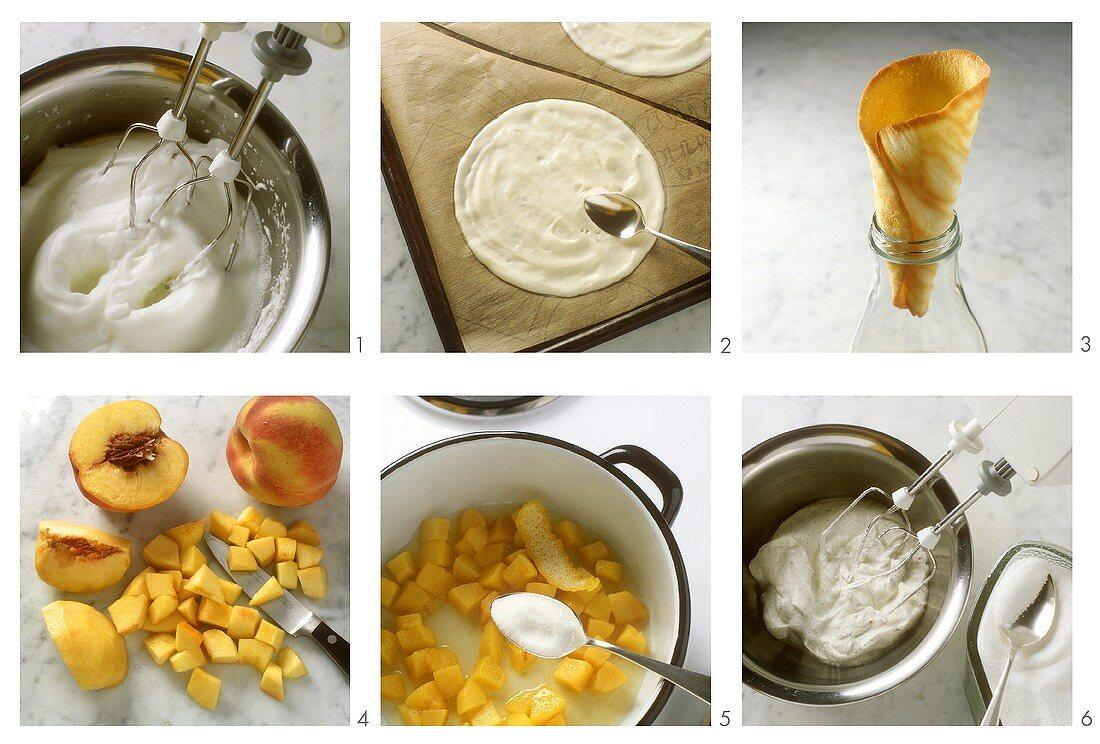 Making ice cream cones
