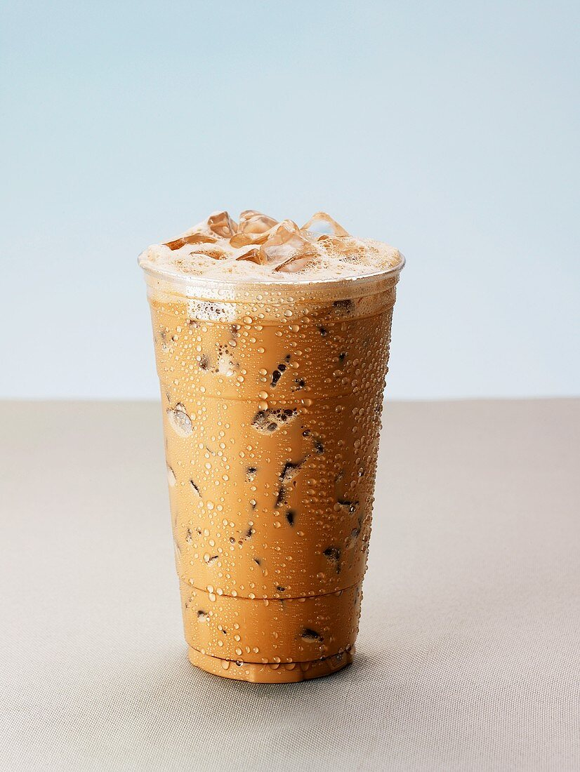 An Iced Mocha Latte