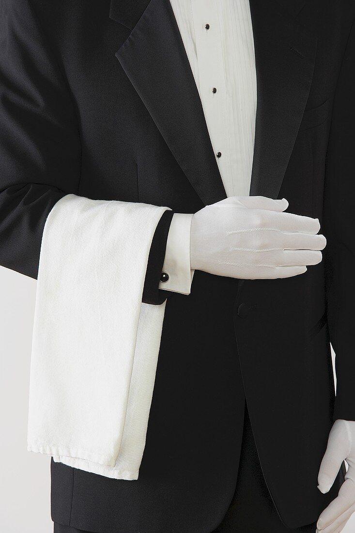 A Waiter in a Tuxedo