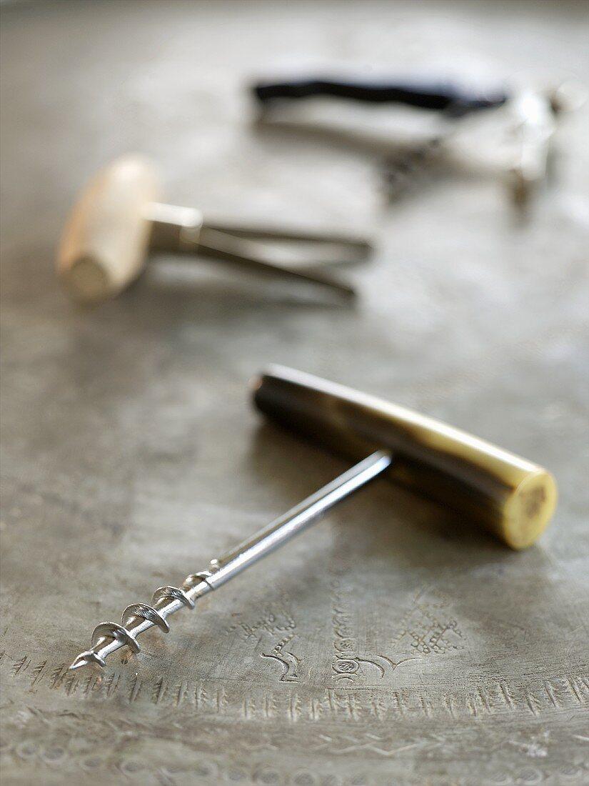 Assorted Cork Screws