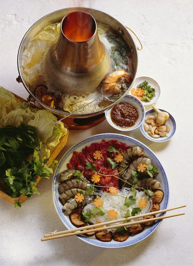 Chinese Hot Pot Fondue
