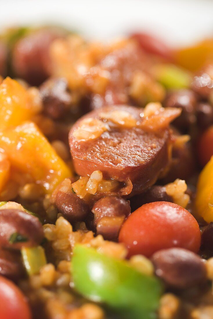 Andouille Sausage and Bean Stew