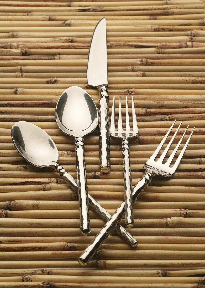 Place Setting of Silverware