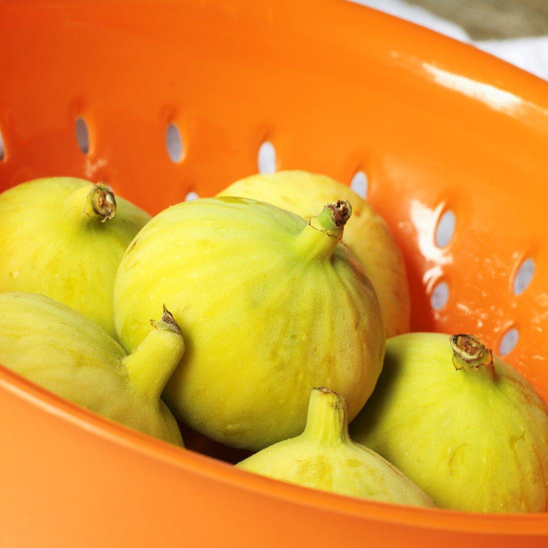 Calimyrna Figs in a Colander