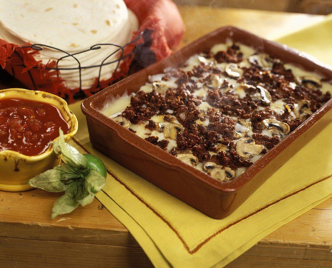 Chorizo and Queso Fresco Breakfast Casserole