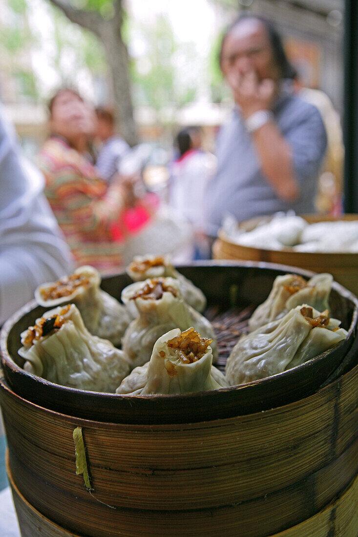 rice dumpling, steamed, buns