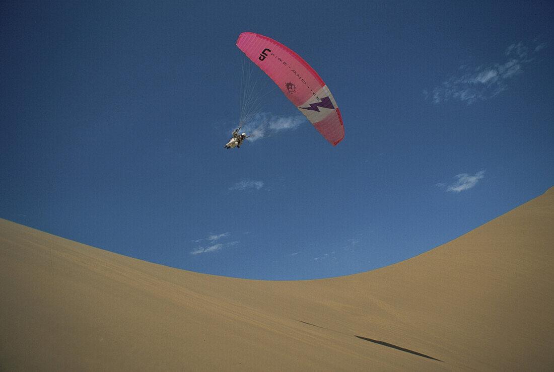 Paragliding, Walfish Bay, Namibia