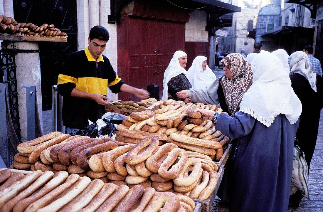 Muslem s quarter. West Jerusalem. Israel
