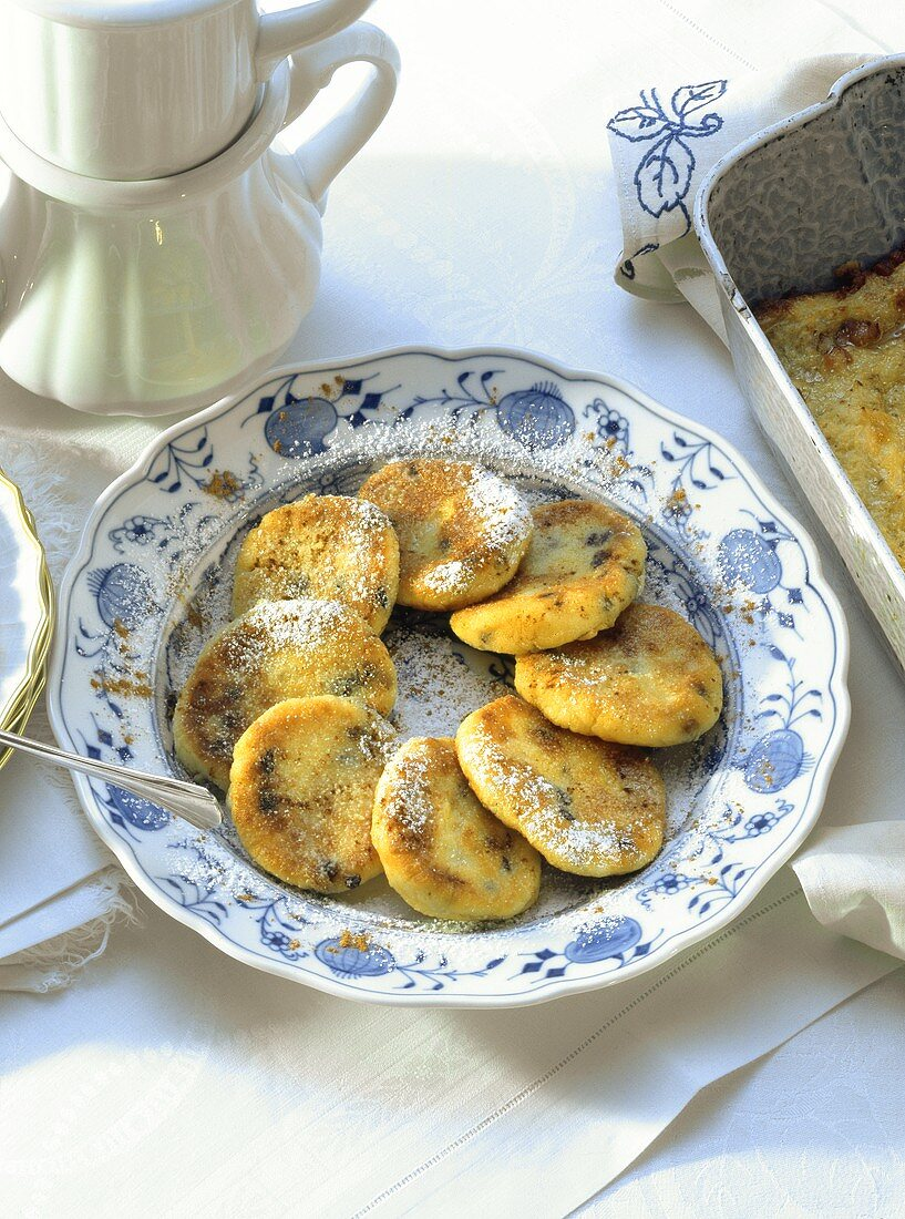 Quarkkeulchen (sweet quark potato cakes)
