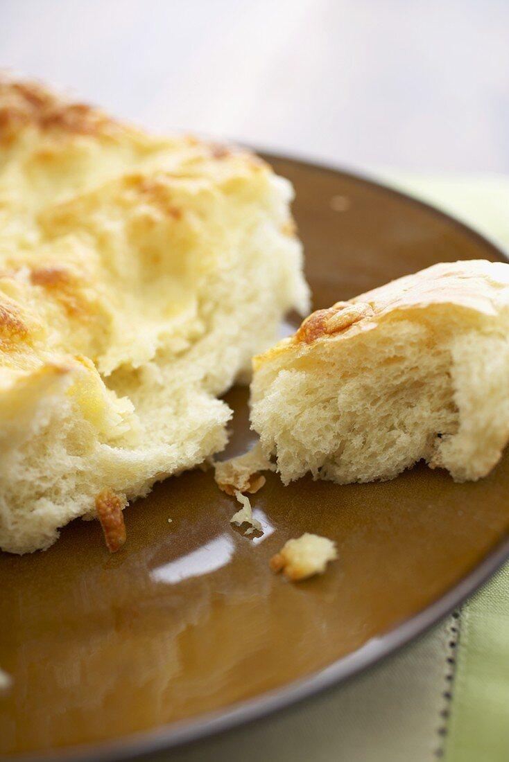 Asiago Cheese Focaccia Bread