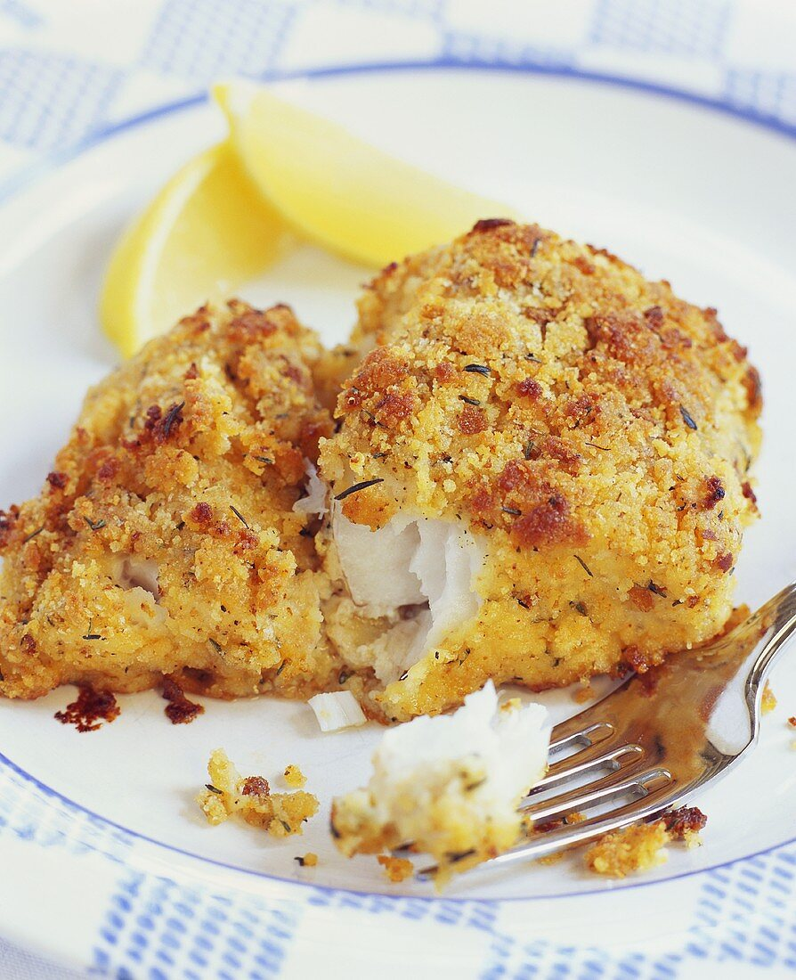 Breade Oven Fried Fish