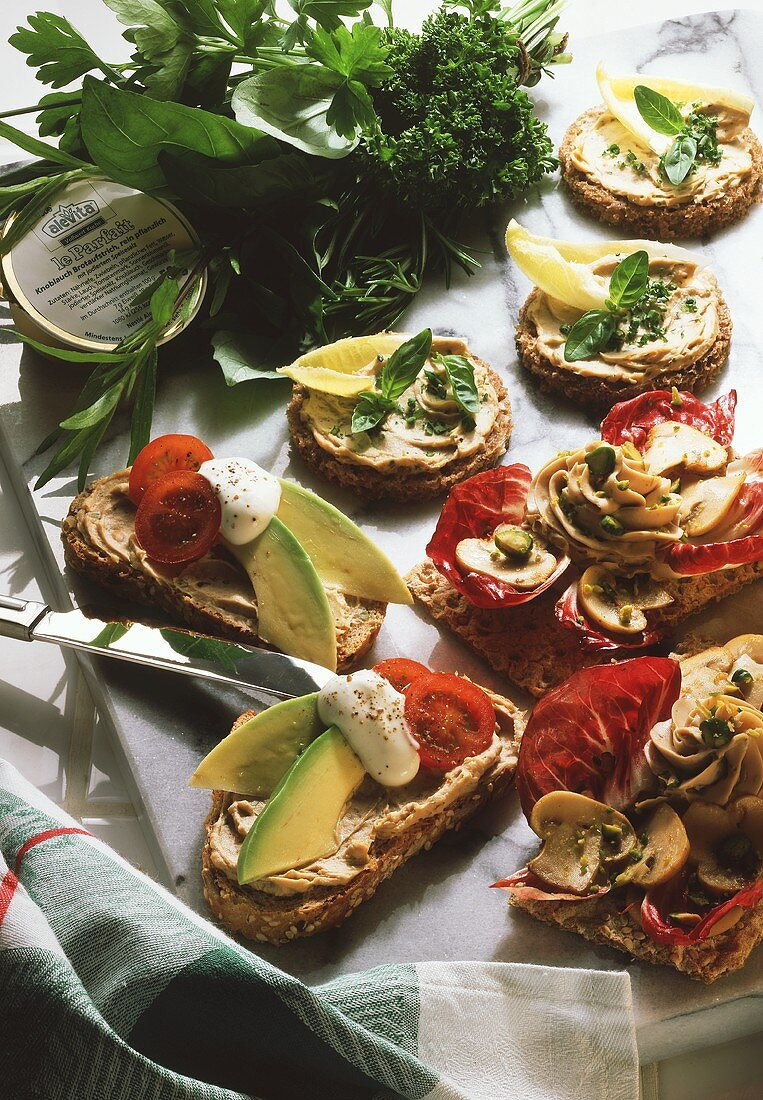 Wholewheat Party Snacks