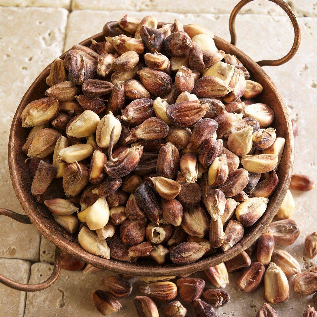 Maize in a Copper Bowl
