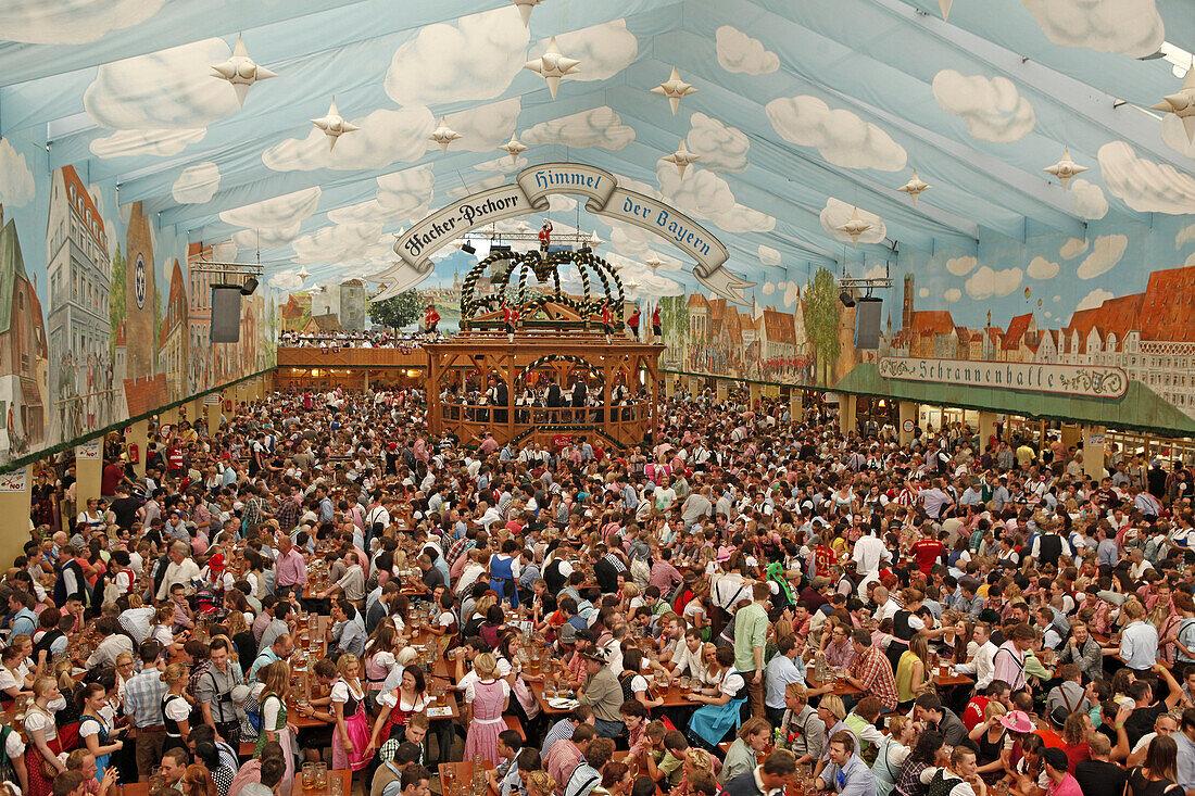 Hofbräu Festzelt, Oktoberfest, München, … - Bild kaufen