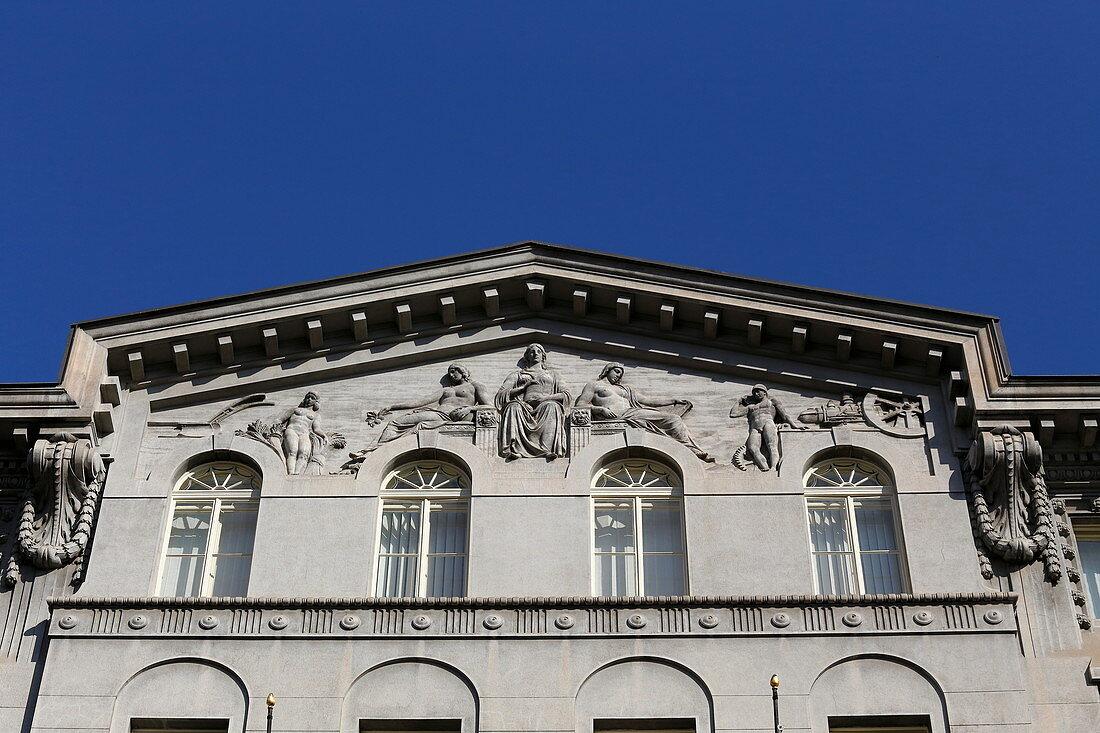Architektur in Prag, Tschechien, Europa