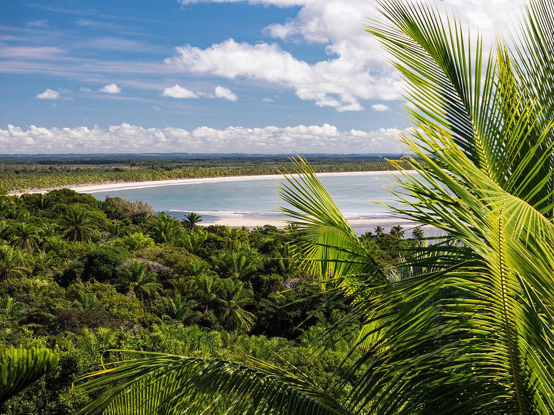 Sandstrand, Insel Boipeba, Bahia, Brasilien, Südamerika
