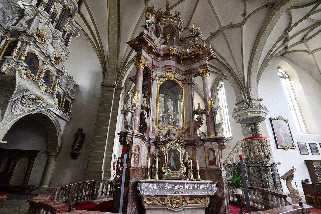 Wallfahrtskirche Maria im Sand bei Dettelbach am Main, Unter-Franken, Bayern, Deutschland